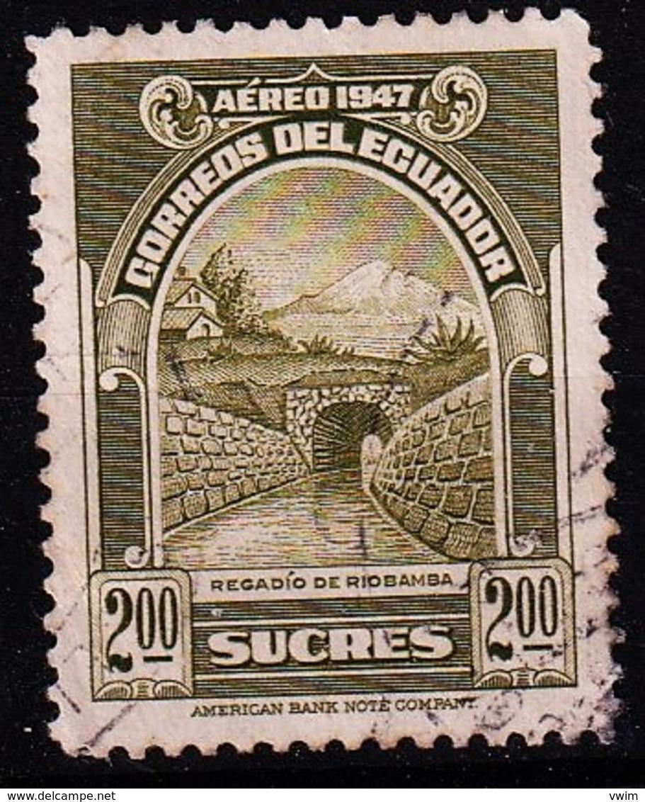ECUADOR - 1947 - MI.nr. 641 - Riobambakanaal -   Gestempeld/oblit./gebraucht/used ° - Equateur