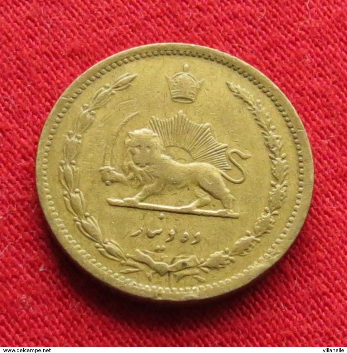 Iran 10 Dinars 1939 / SH 1318 KM# 1139 Lt 305  Irão Persia Persien - Iran