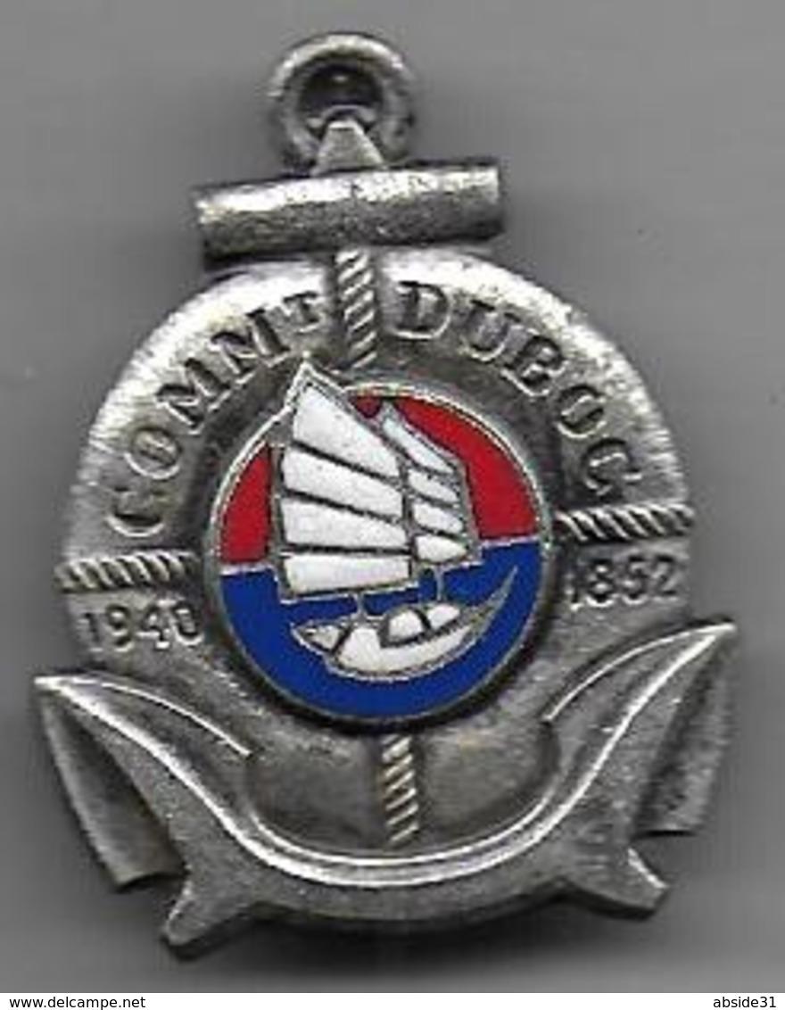 COMMt DUBOSC - Aviso Dragueur -  Insigne émaillé Drago O.M. Déposé - Marine