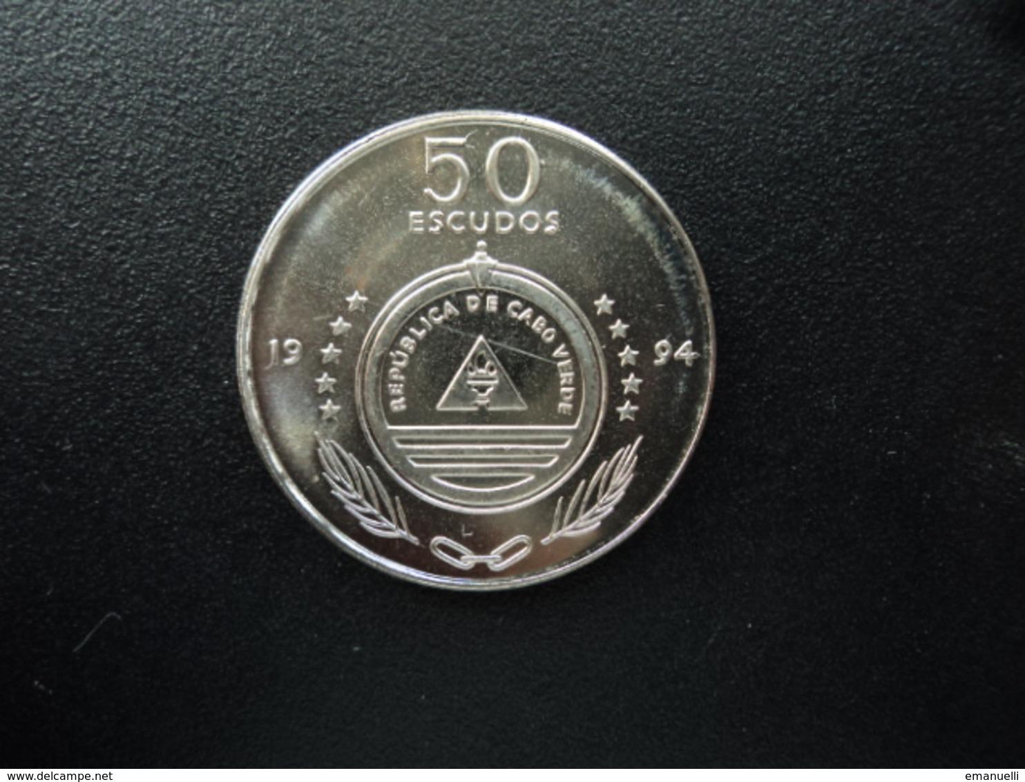 CAP VERT : 50 ESCUDOS  1994  KM 44     Non Circulé - Cape Verde