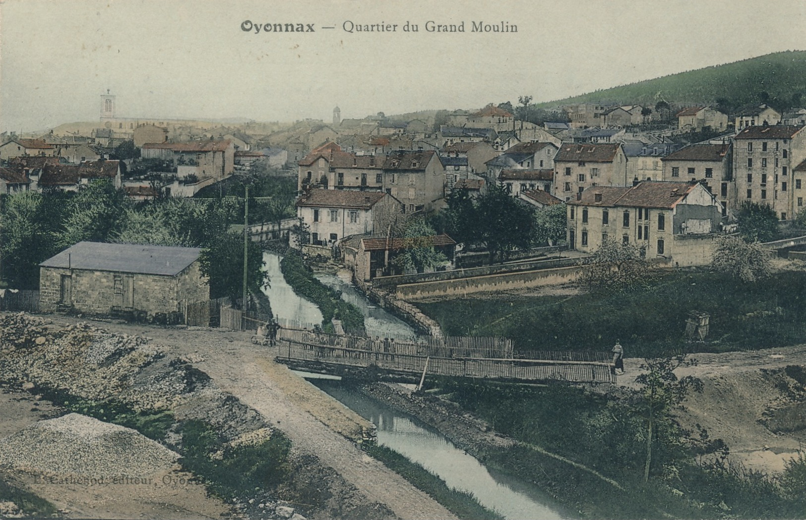 H212 - 01 - OYONNAX - Ain - Quartier Du Grand Moulin - Oyonnax