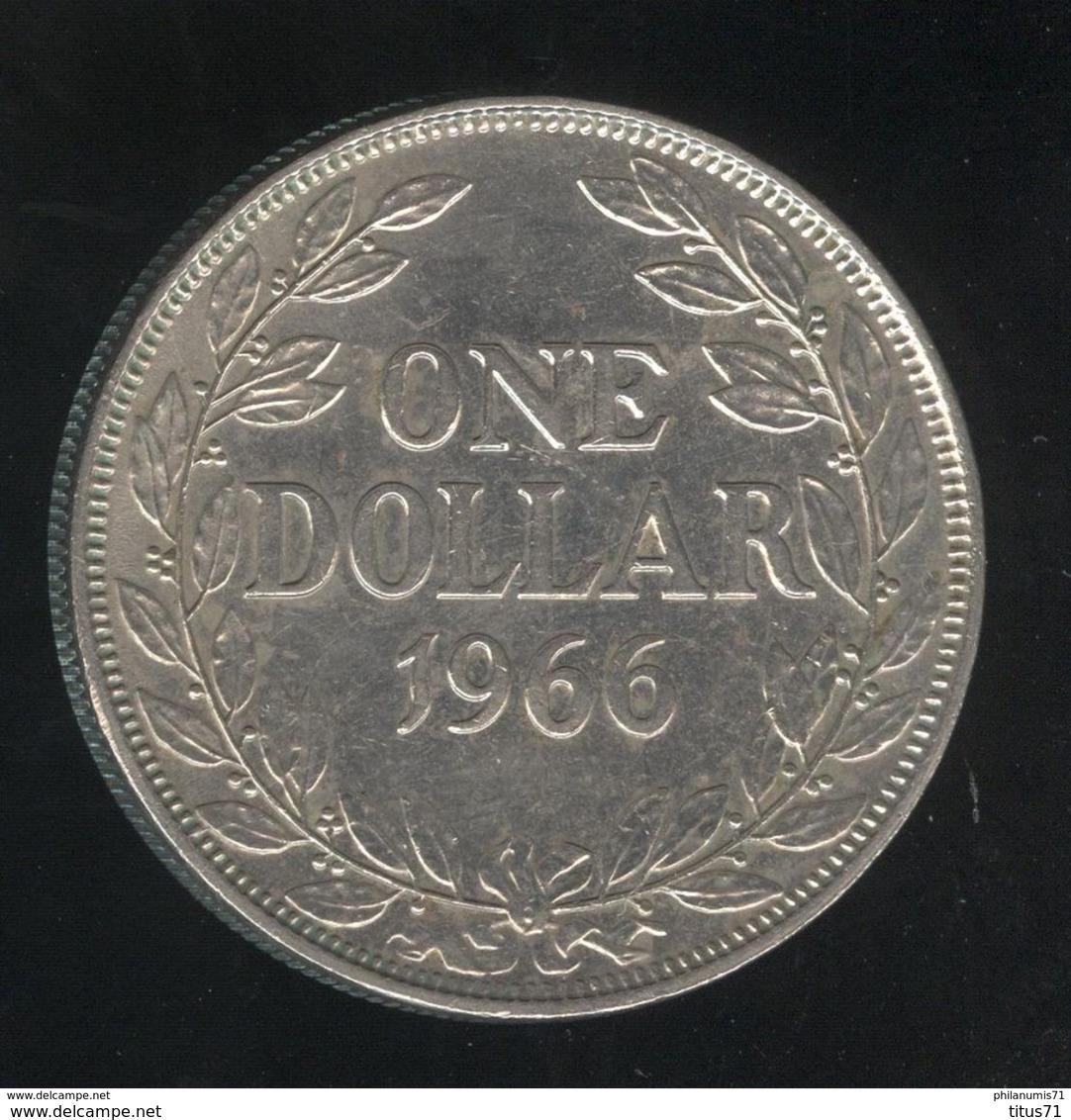 1 Dollar Libéria 1966 TTB+ - Liberia