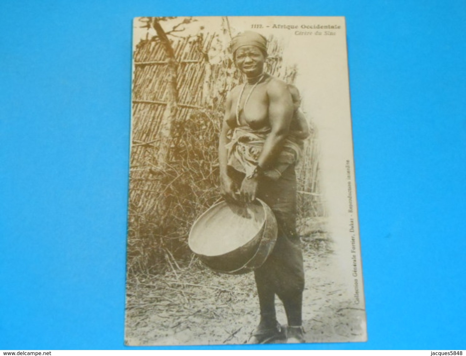 Nus ) Afrique Occidentale - Cérére Du Sine - N° 1112 -  Année  - EDIT - Fortier - South, East, West Africa