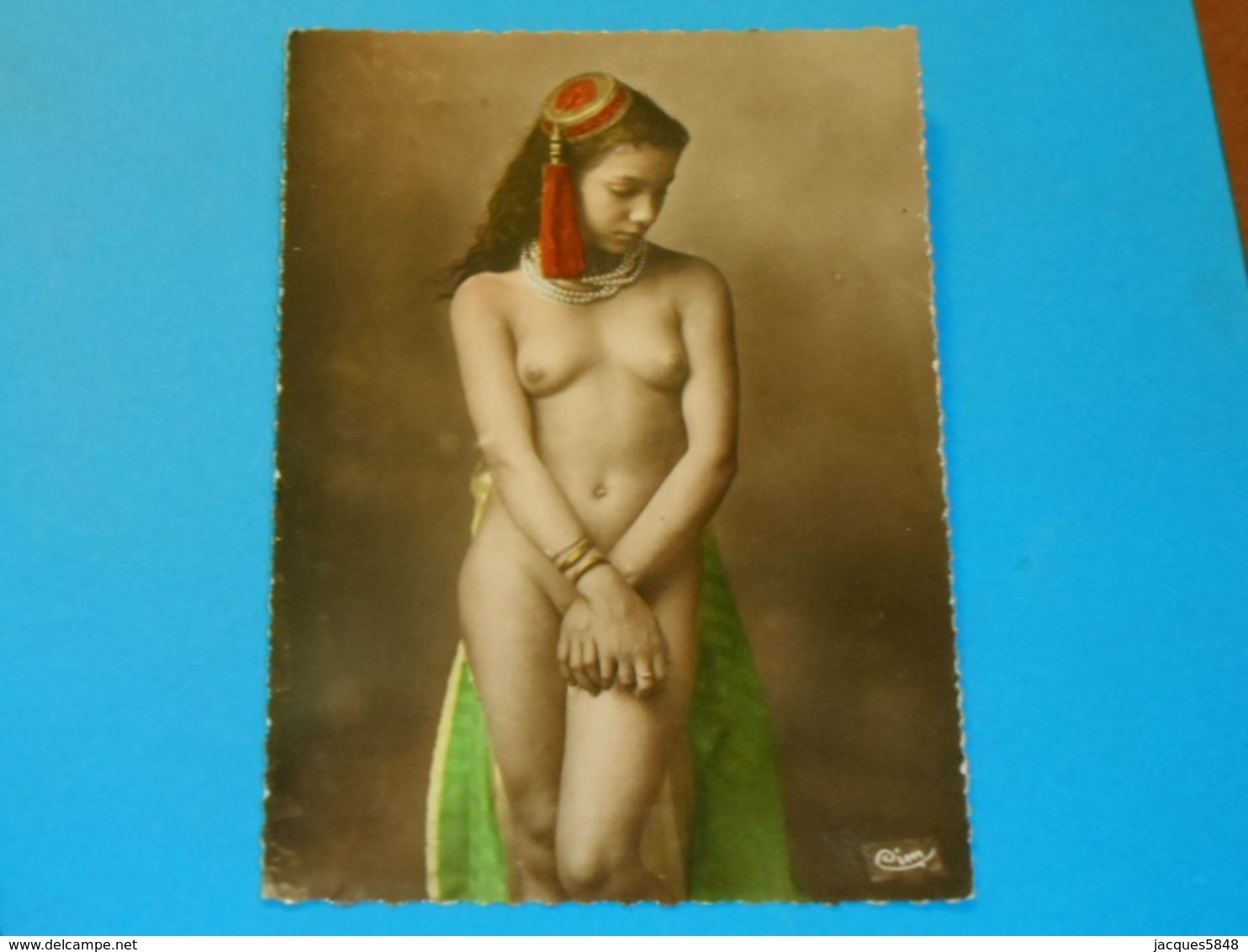 Nus ) Grand Format - Type De Femme De L'afrique Du Nord  -  Année  - EDIT - Combier - Afrique Du Nord (Maghreb)