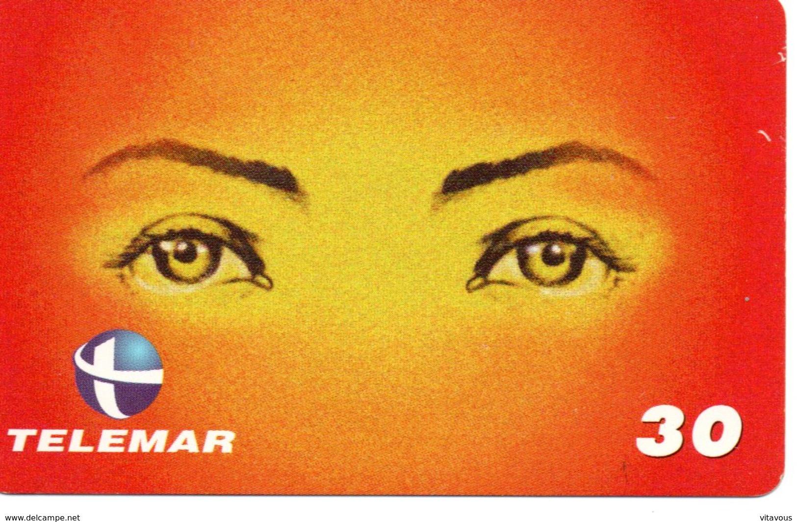 Télécarte Yeux Oeil Phonecard  (G 542) - Brésil