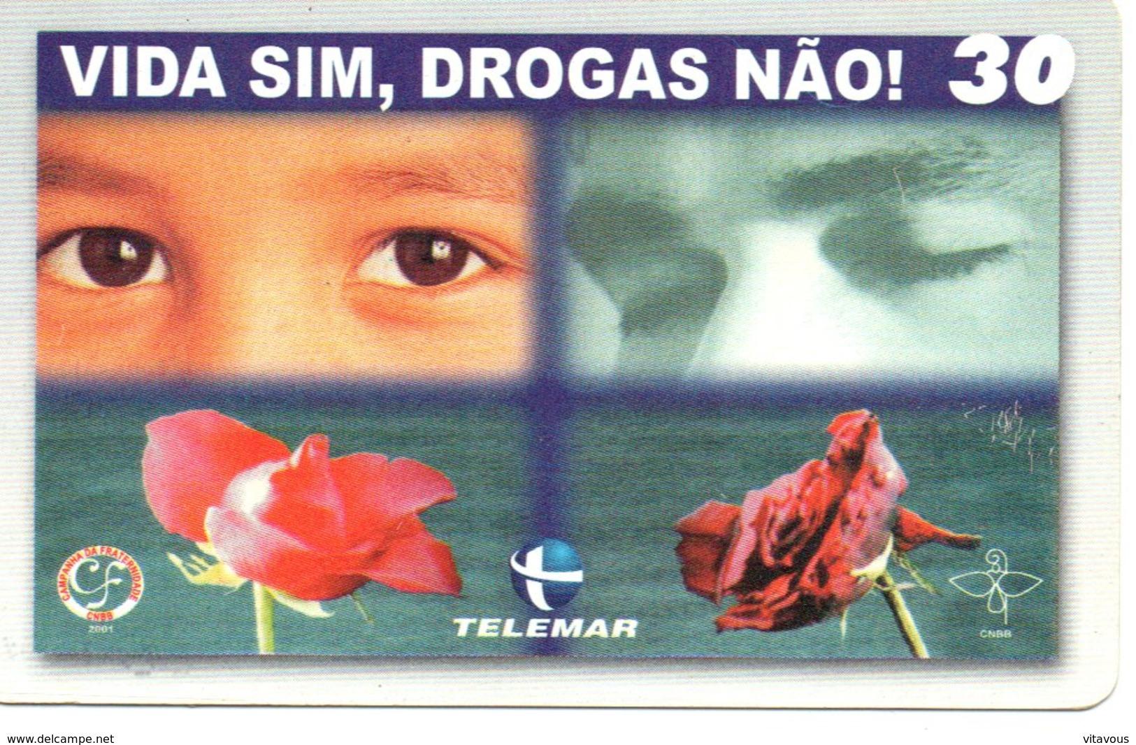 Télécarte Yeux Oeil Phonecard  (G 550) - Brésil