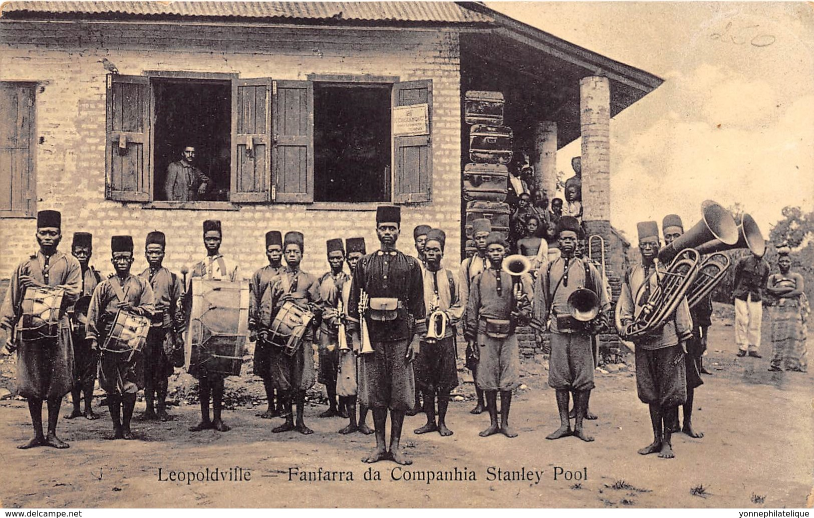 Congo -  Leopoldville / 27 - Fanfarra Da Companhia Stanley Pool - Kinshasa - Léopoldville