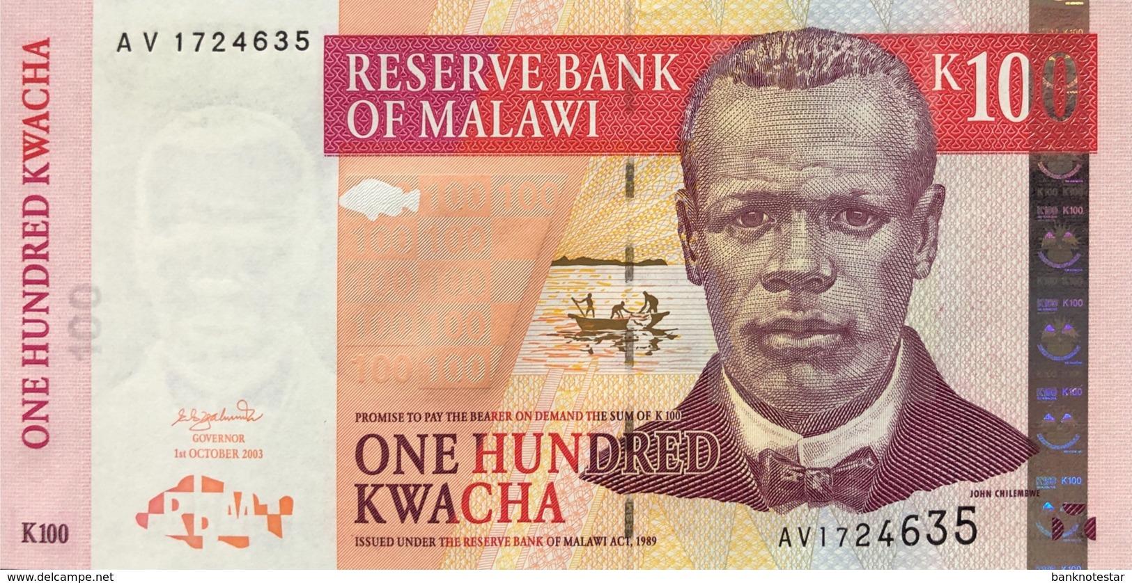 Malawi 100 Kwacha, P-46c (1.10.2003) - UNC - Malawi