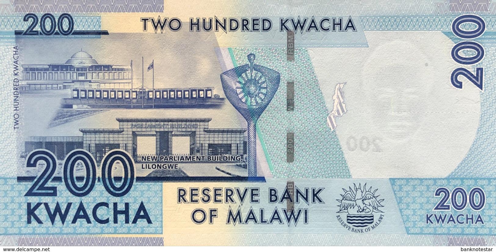 Malawi 200 Kwacha, P-60a (1.1.2012) - UNC - Malawi