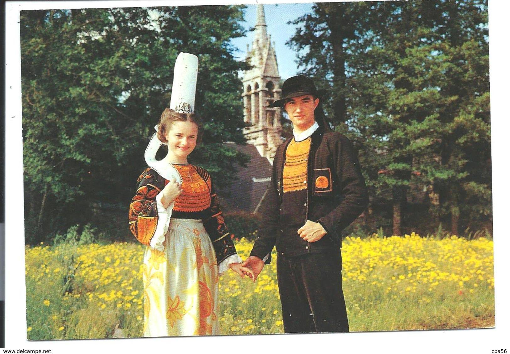 SAINT-JEAN-TROLIMON - Un Couple De Bigouden - N°176 B.E.B. - Saint-Jean-Trolimon