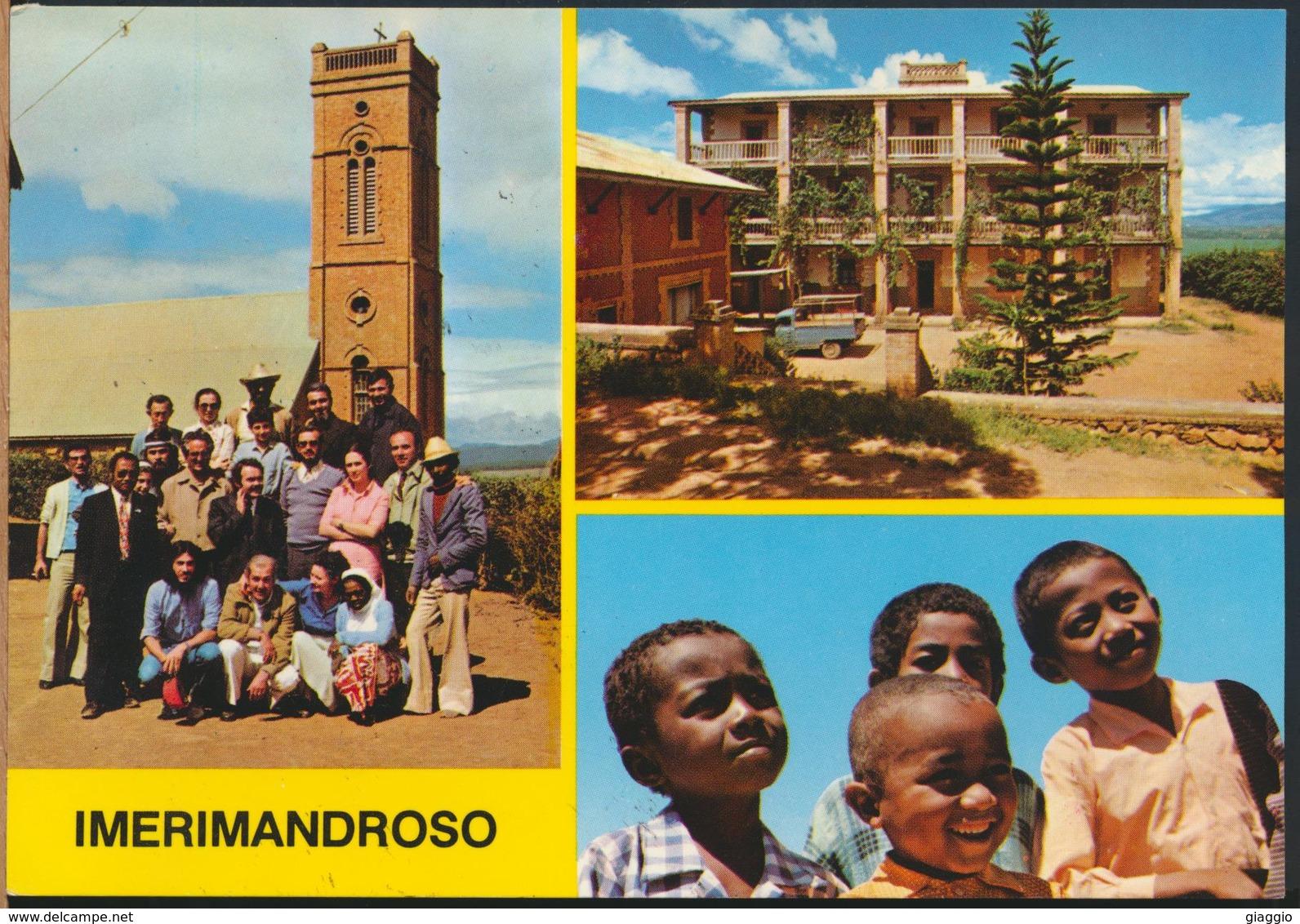 °°° 13014 - MADAGASCAR - IMERIMANDROSO - VIEWS - 1987 With Stamps °°° - Madagascar