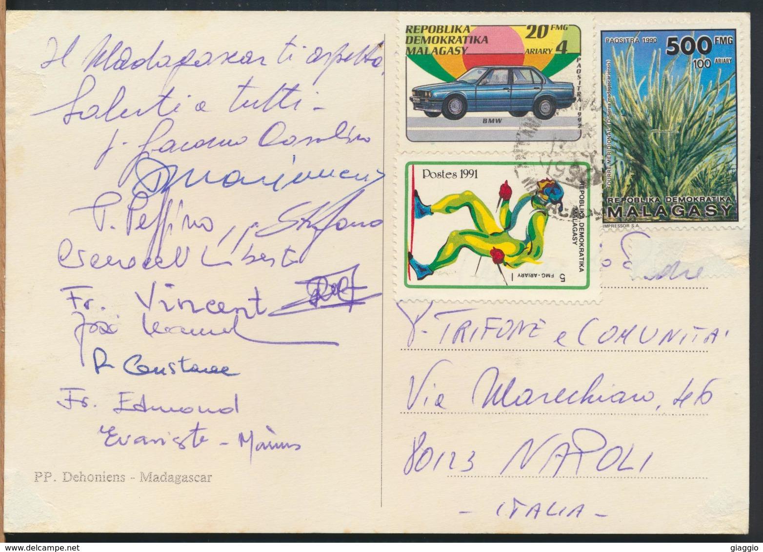 °°° 13016 - MADAGASCAR - PP. DEHONIENS - 1994 With Stamps °°° - Madagascar