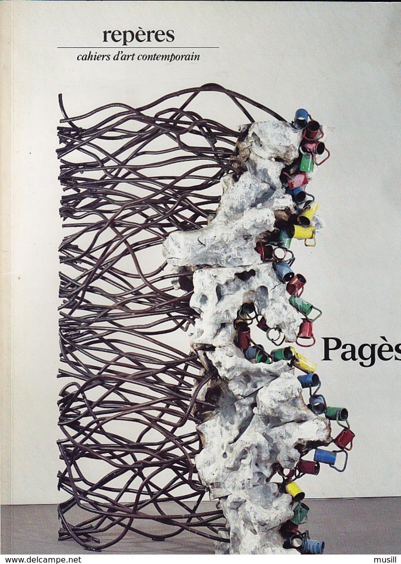 Pagès. Repères. Cahiers D'Art Contemporain N° 35. Préface De Daniel Abadie. - Art