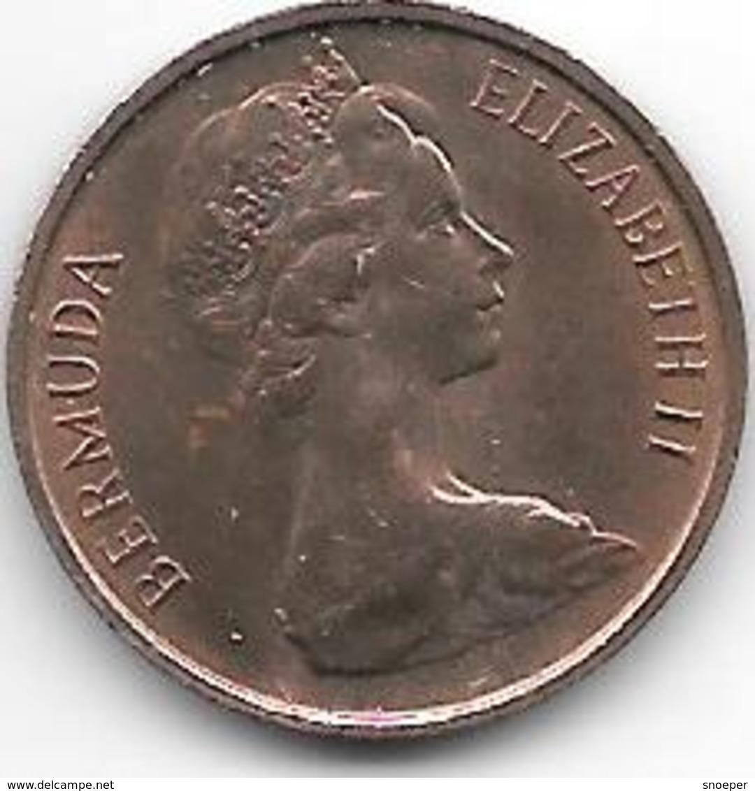 *bermuda 1 Cent 1971 Km 15  Unc - Bermudes