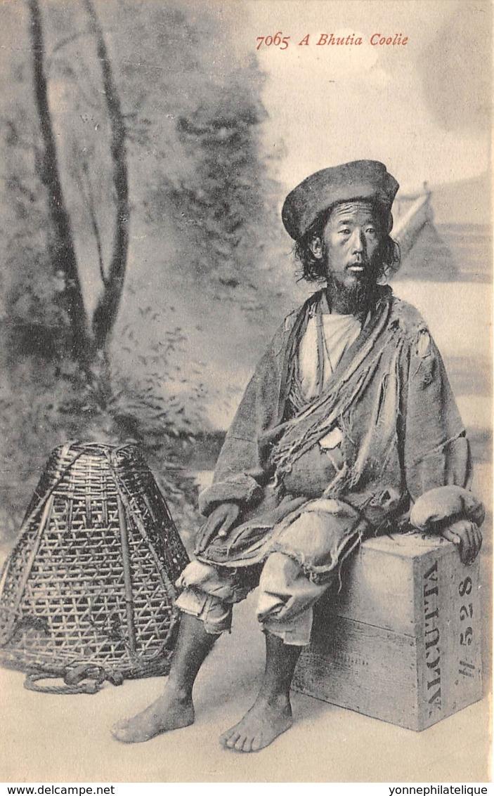 Buthan / 02 - A Bhutia Coolie - Bhoutan
