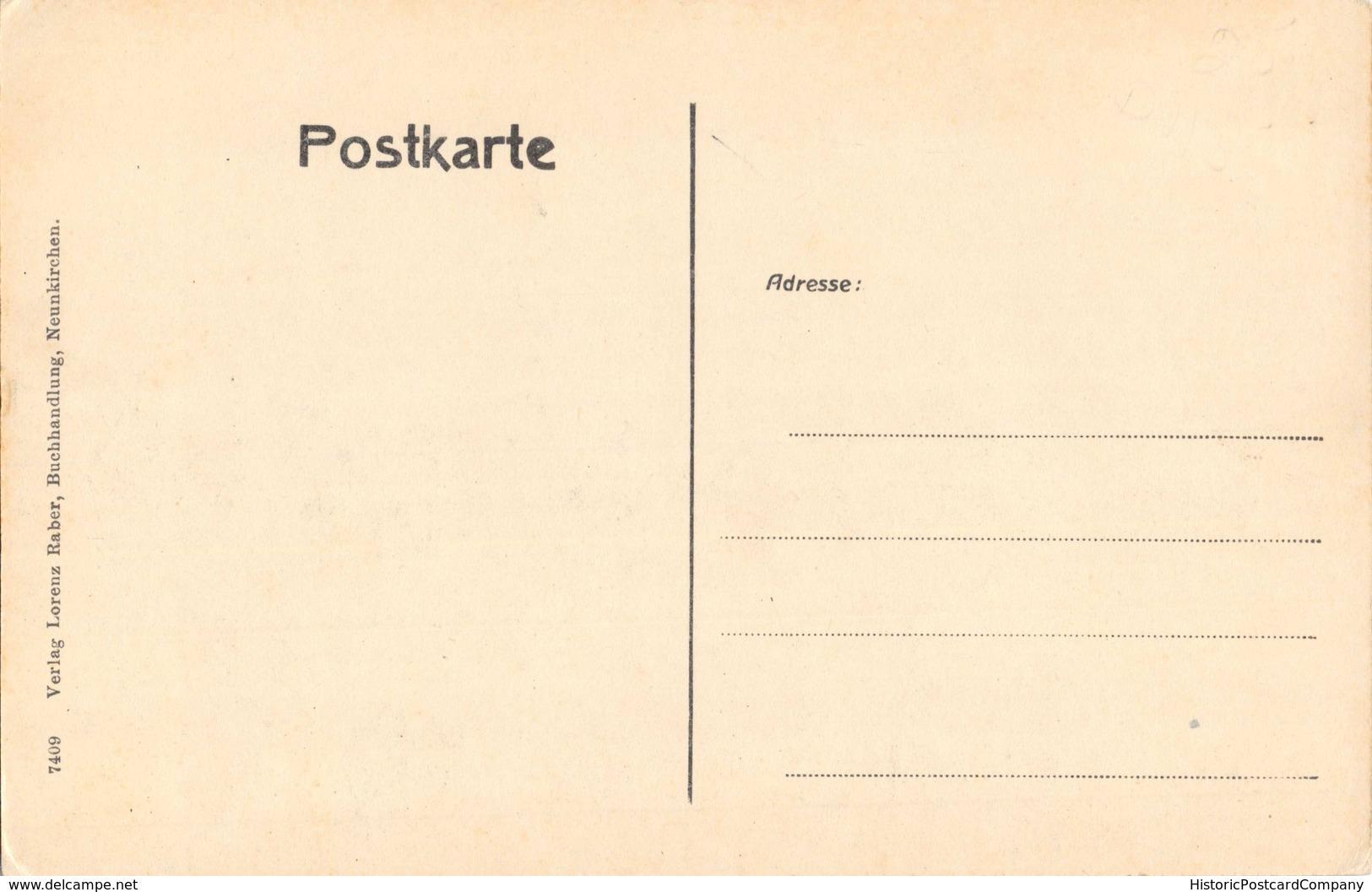 NEUNKIRCHEN BEZ TRIER GERMANY~KAISER WILHELM-OBERER MARKT-L RABER PHOTO POSTCARD 35411 - Autres