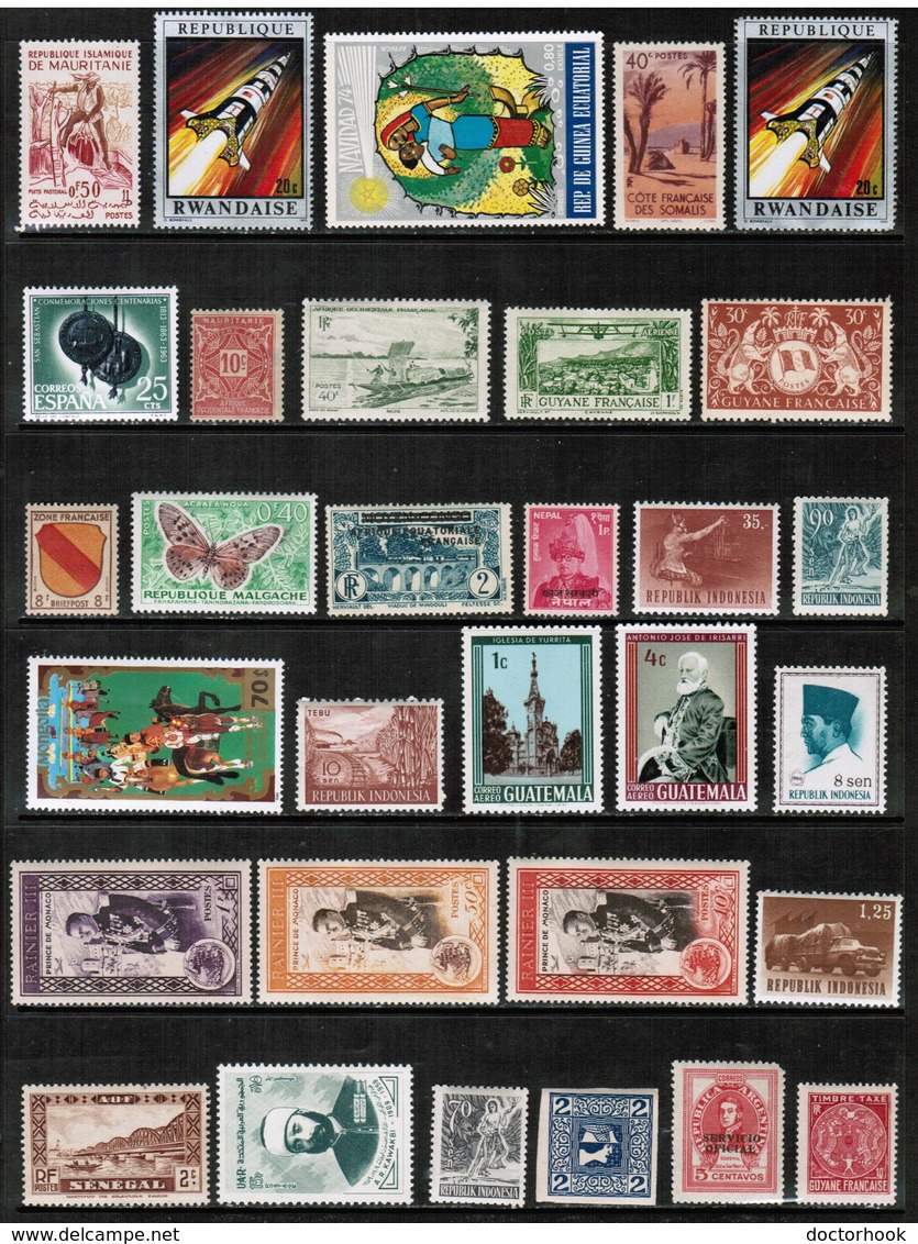 WORLDWIDE---Collection Of MINT NEVER HINGED DL-651 - Stamps