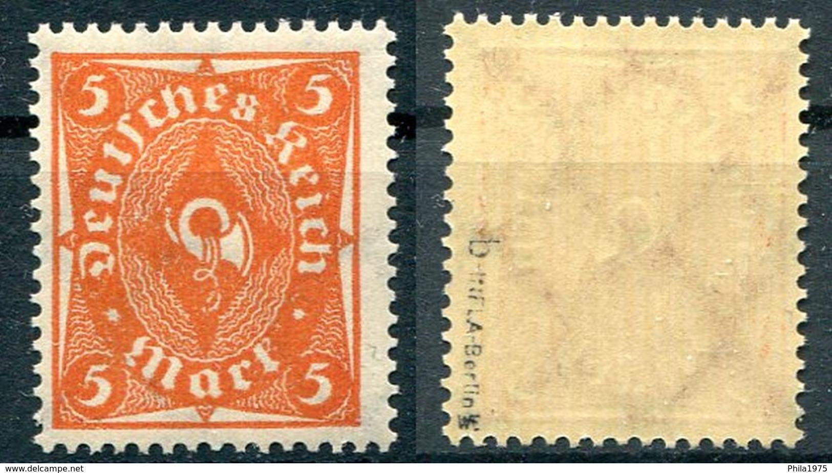 Deutsches Reich Michel-Nr. 227b Postfrisch - Geprüft - Deutschland
