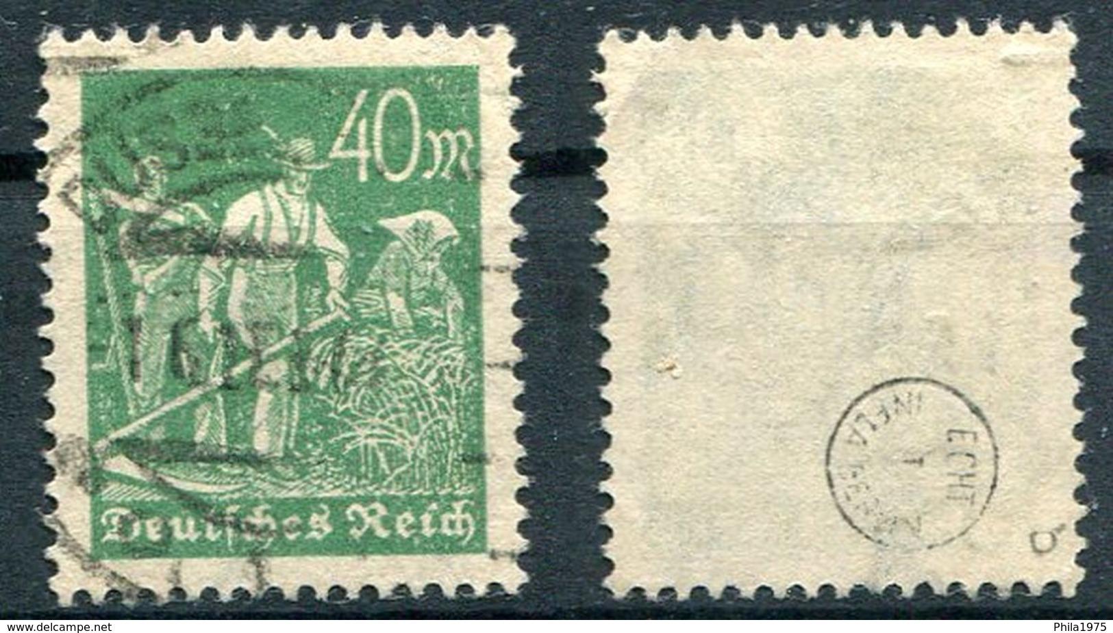 Deutsches Reich Michel-Nr. 244b Gestempelt - Geprüft - Gebraucht