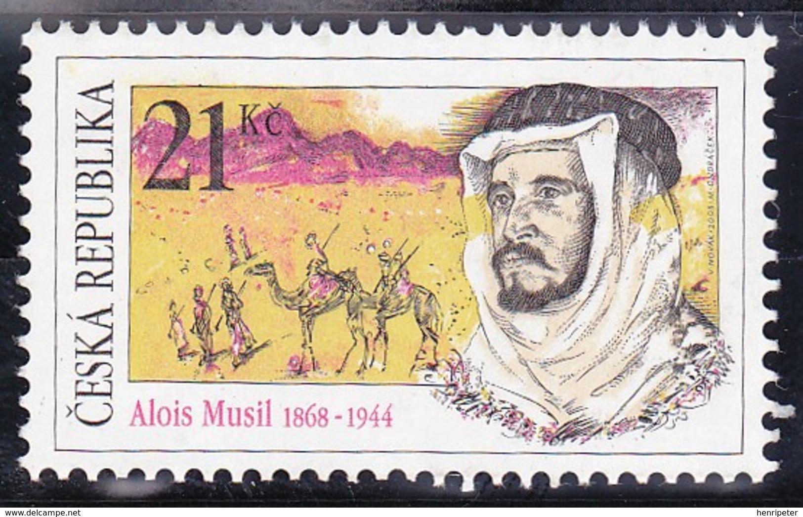 T.-P. Gommé Neuf** - 140ème Anniversaire De La Naissance De L'explorateur Alois Musil - N° 567 (Michel) - Tchèquie 2008 - Neufs