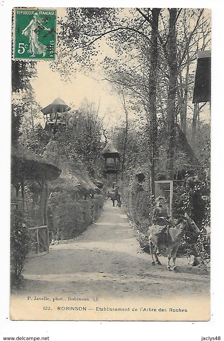 ROBINSON  (cpa 92)  Etablissement De L'arbre Des Roches   -  L 1 - Francia