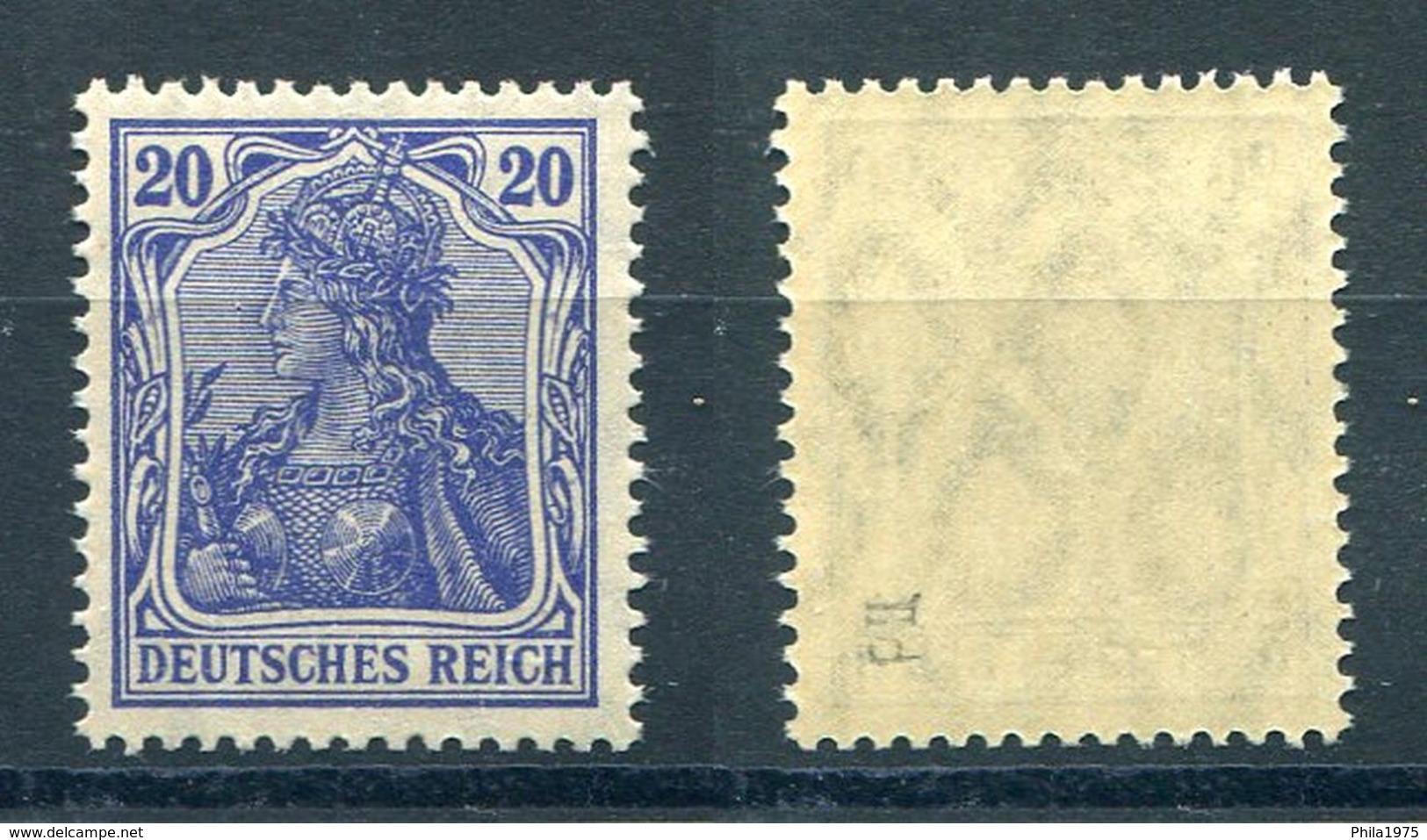 Deutsches Reich Michel-Nr. 87IId Postfrisch - Geprüft - Deutschland