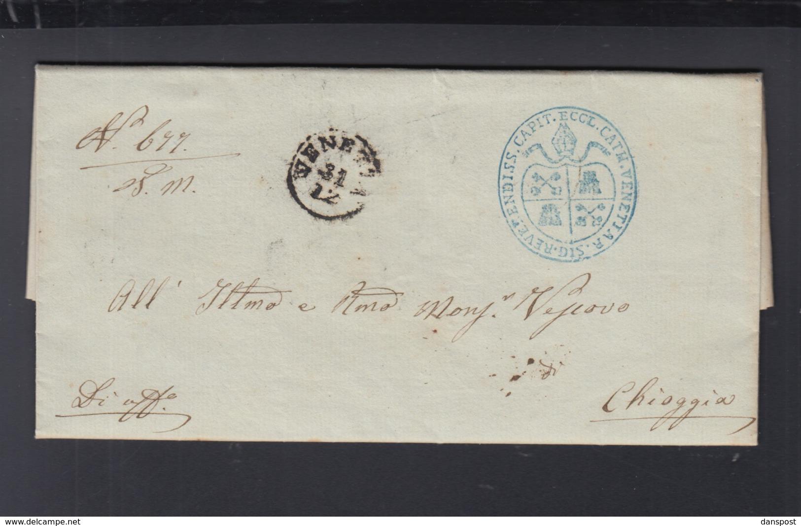 Lettera Venezia 1857 - Lombardo-Veneto