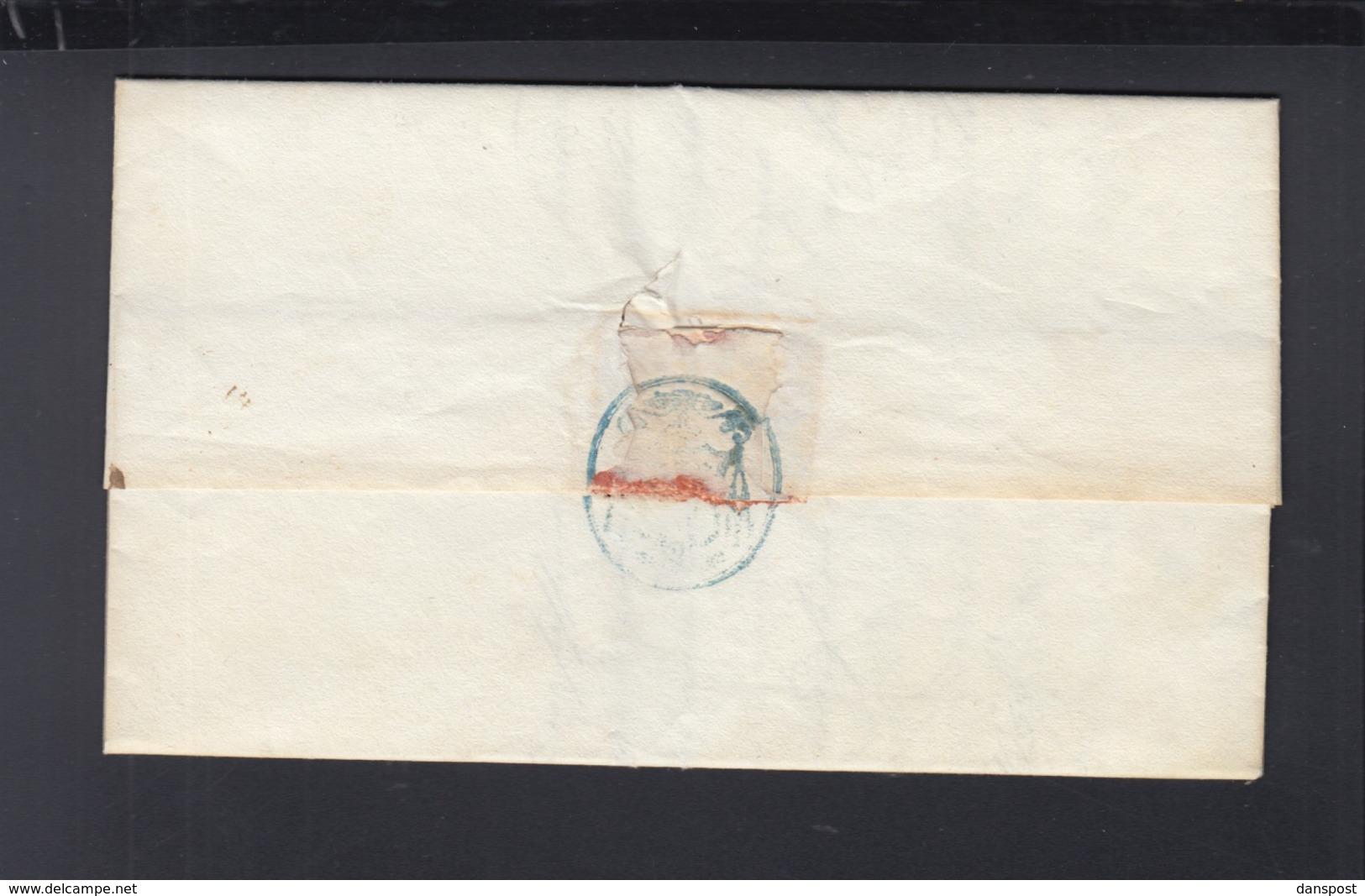 Lettera 1856 Per Aquaviva - Lombardo-Venetien