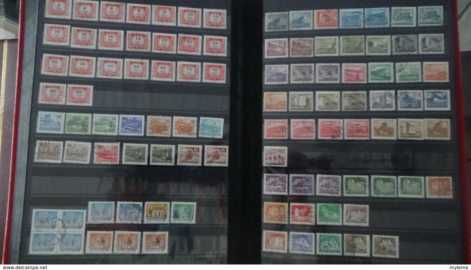 Collection Hongrie Majorité Oblitérés Dont Timbres ** De France Côte 305 Euros Hors Timbres De L'album !!! - Timbres