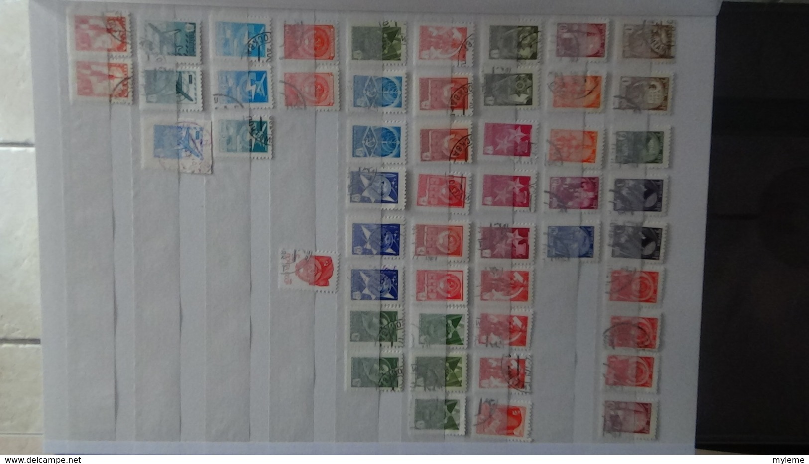Collection D'URSS Majorité Oblitérés Dont Timbres ** De France Côte 325 Euros Hors Timbres De L'album !!! - Timbres