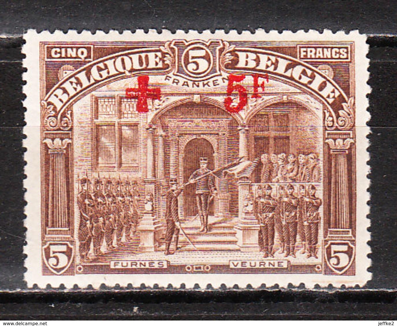 162*  Croix-Rouge - UNE Des 2 Bonnes Valeurs - MH* - LOOK!!!! - 1918 Croix-Rouge