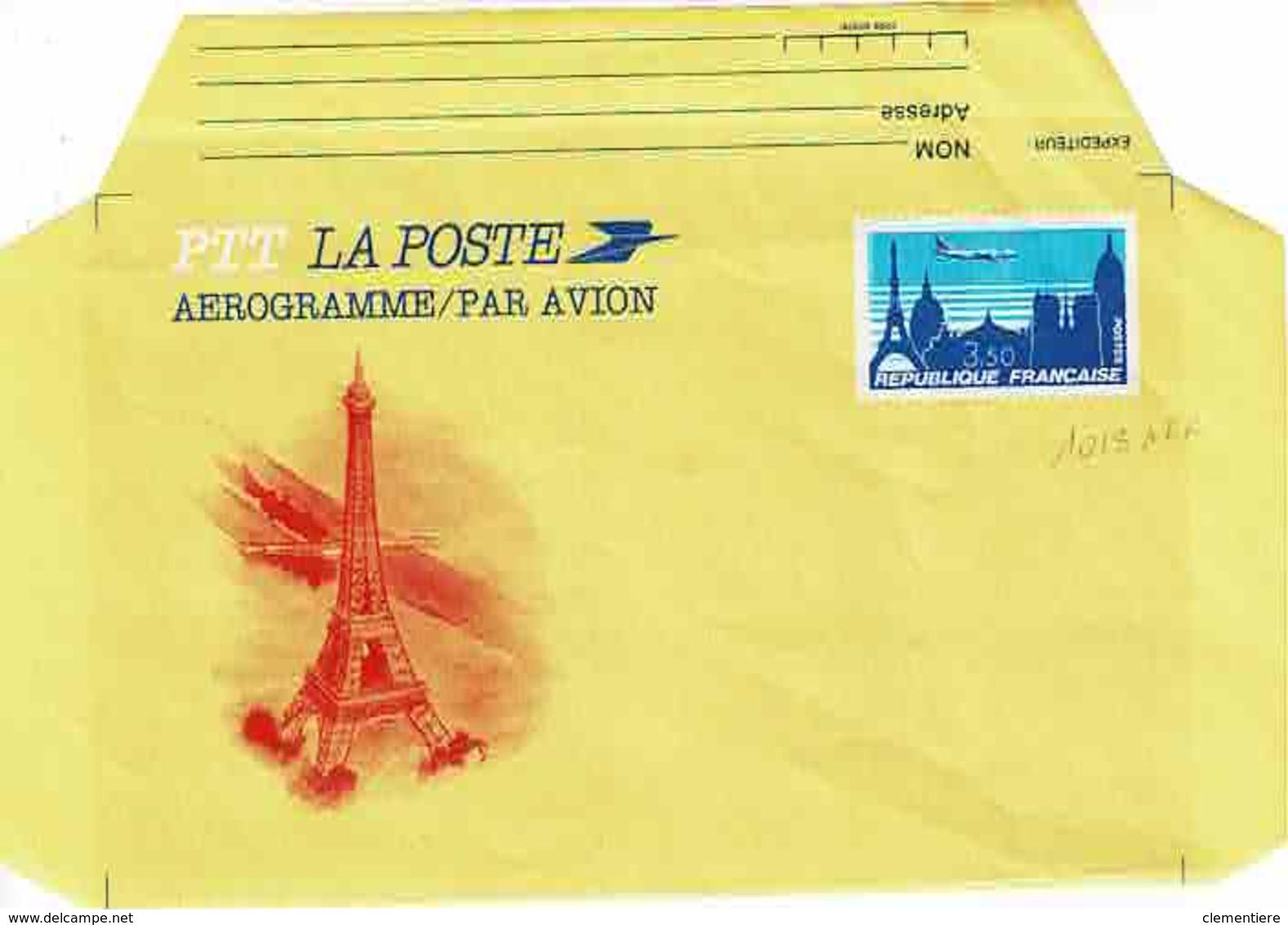 Aérogramme Neuf  1013 AER - Prêts-à-poster:  Autres (1995-...)