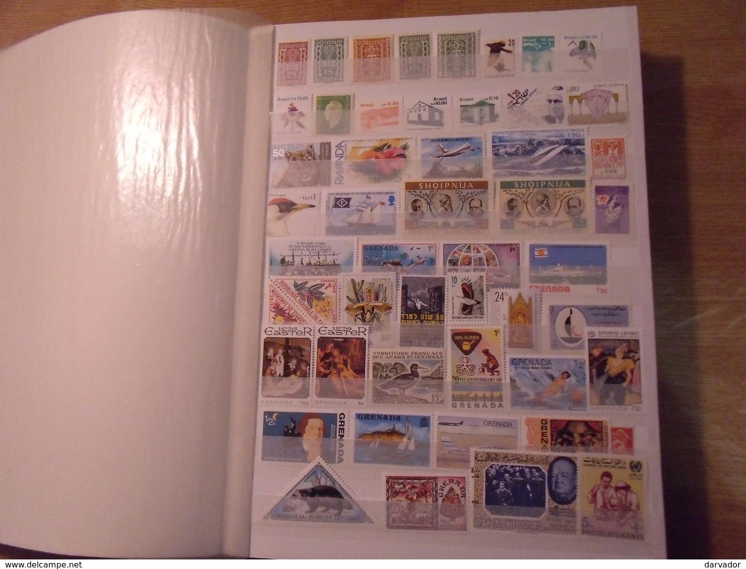 LIQUIDATION / Album M /  Timbres Divers Monde Tous Neuf **  MNH ( Sans Charnière   (52 Photos ) SUPERBE - Timbres