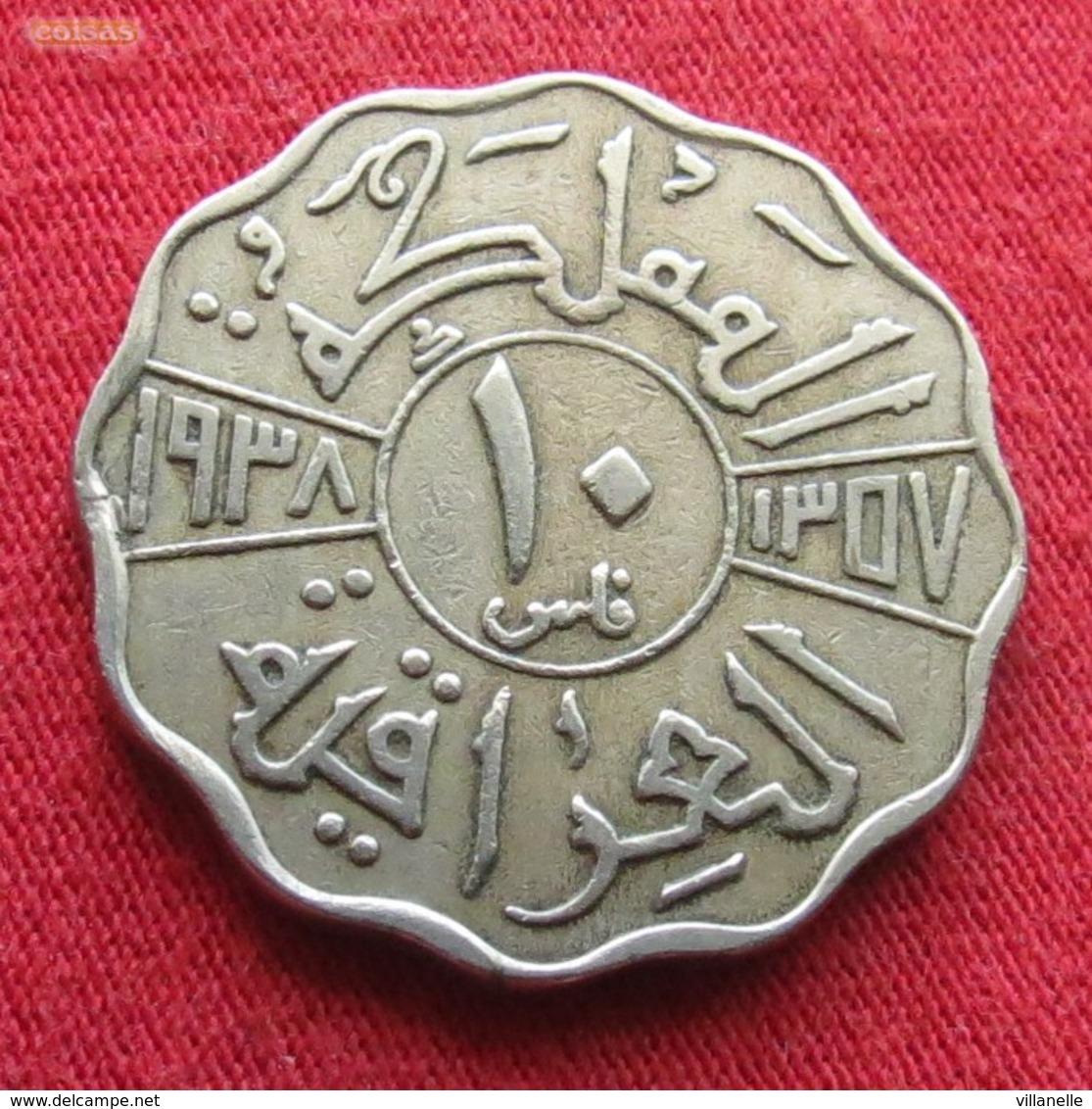 Iraq 10 Fils 1938 KM# 103  Iraque Irak - Iraq