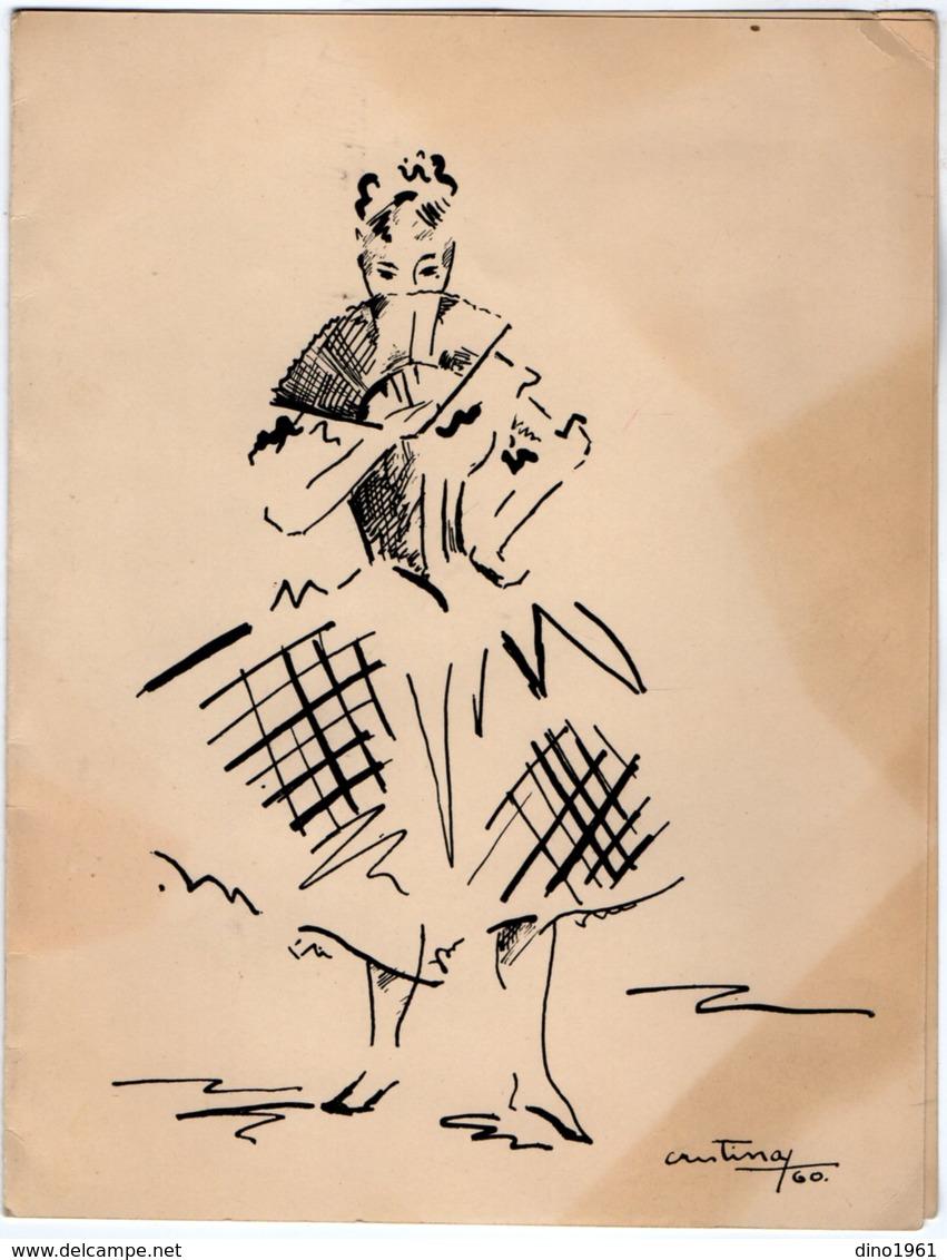 VP13.525 - MADRID 1960 - Noblesse - Autographe De Mme La Princesse De BAVIERE - Autographes