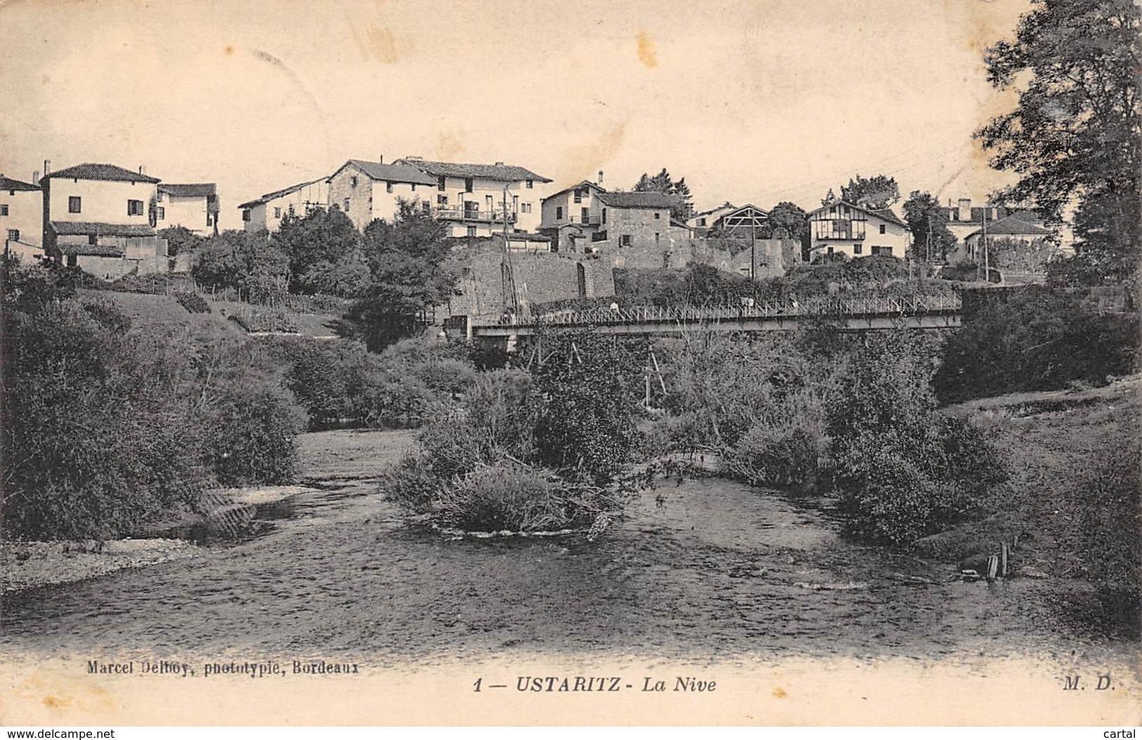 64 - USTARITZ - La Nive - France