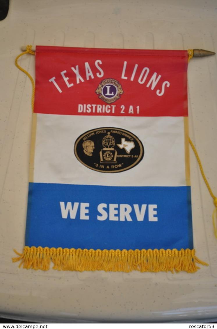 Rare Fanion Lion's Club Texas District 2 A1 - Organizations