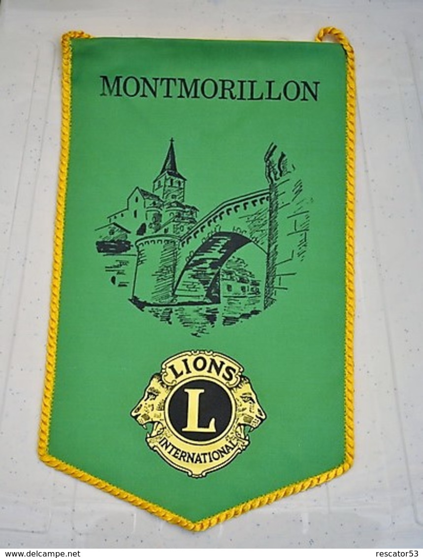 Rare Fanion Lion's Club Montmorillon - Organizaciones