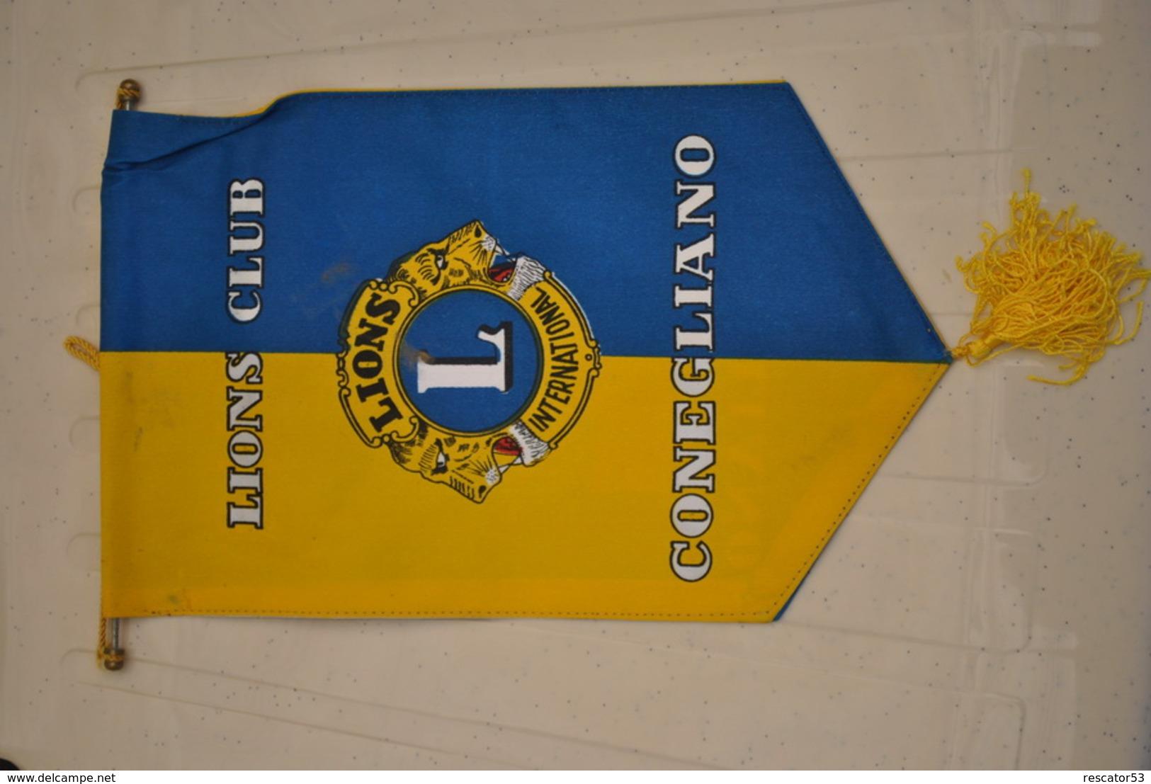 Rare Fanion Lion's Club  Conegliano - Organizations