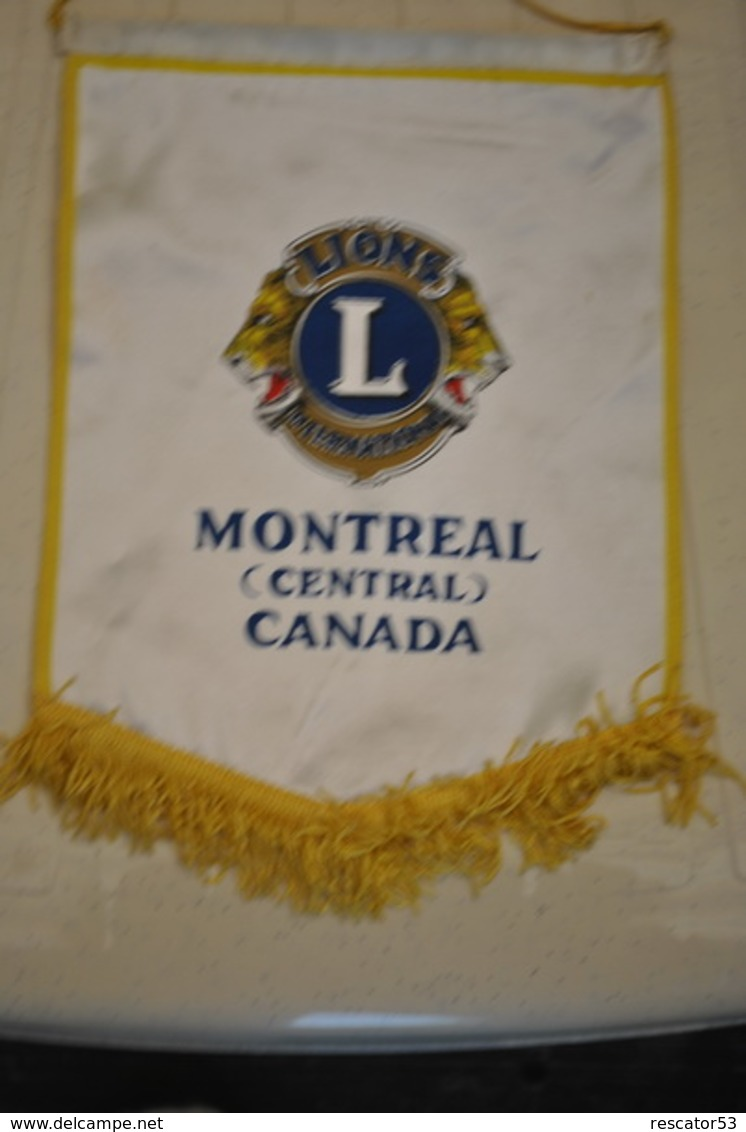 Rare Fanion Lion's Club  Montréal - Organizaciones