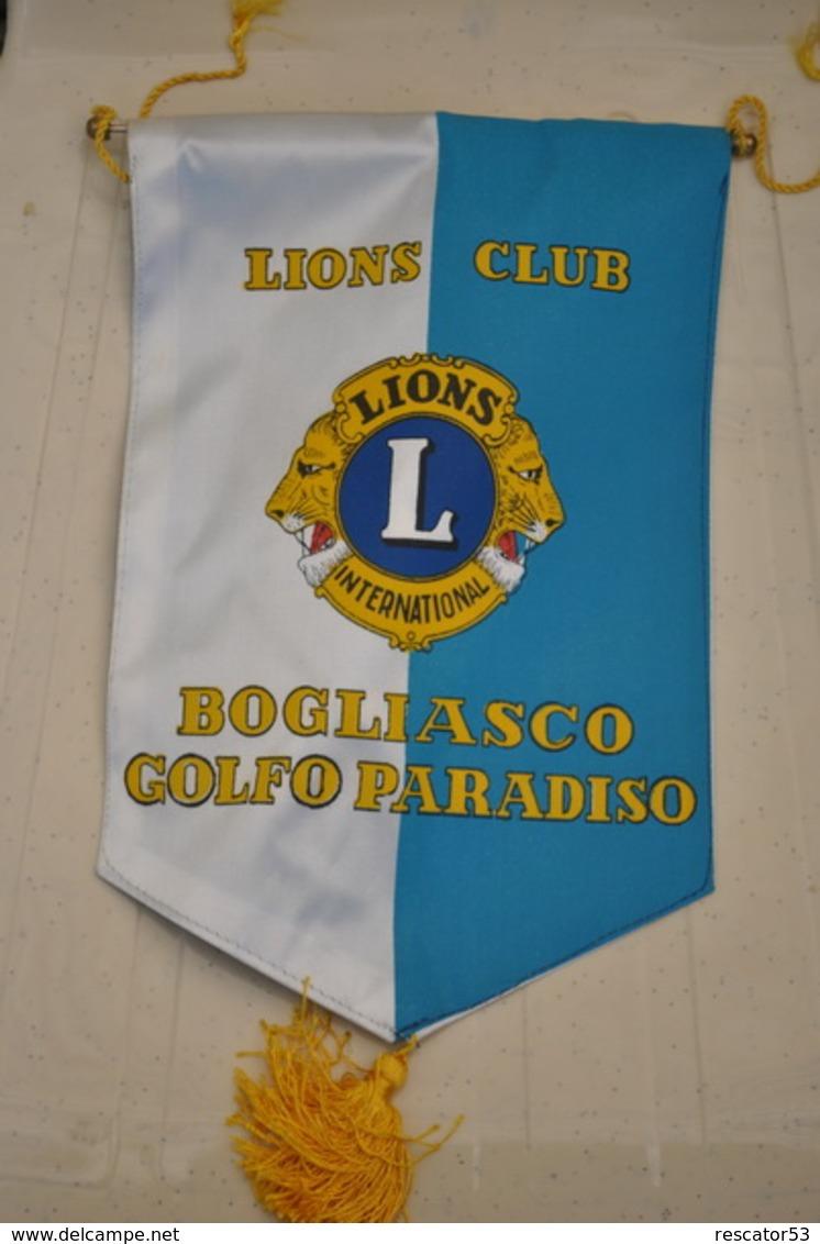 Rare Fanion Lion's Club Bogliasco - Organizations