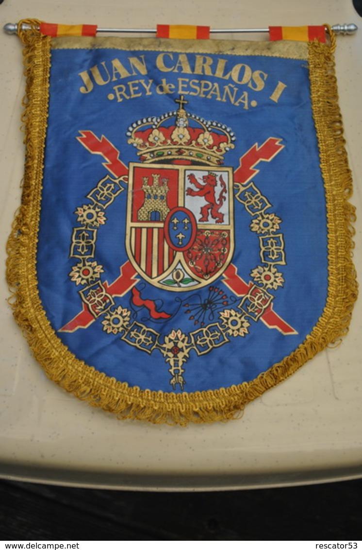 Rare Fanion  Juan Carlos I - Organizaciones