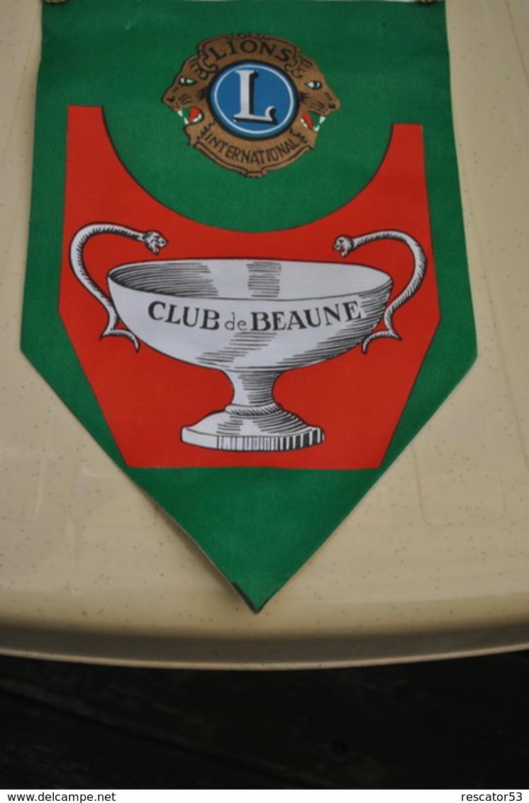 Rare Fanion Lion's Club Beaune - Organizaciones