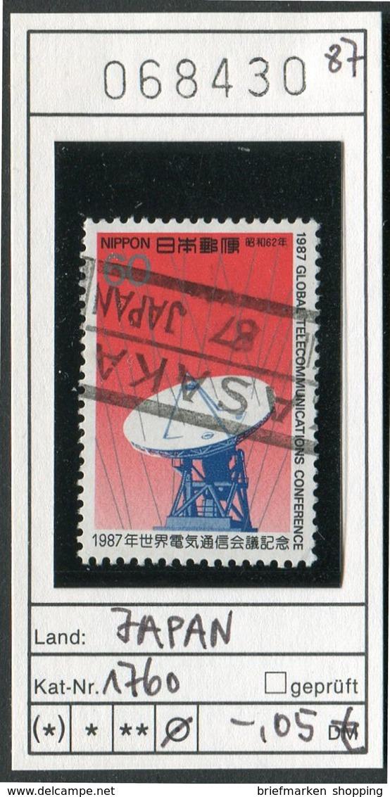 Japan - Japon - Nippon - Michel 1760 - Oo Oblit. Used Gebruikt - Telekommunikation / Telecommunication - Usados