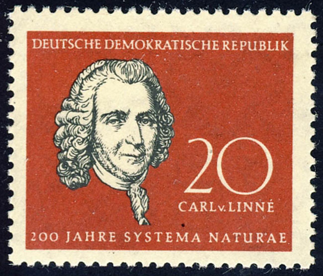632 Carl Von Linné ** - [6] République Démocratique