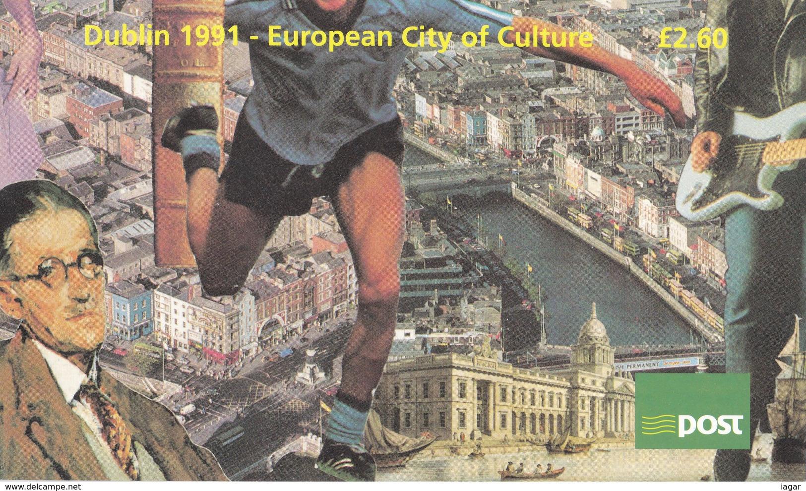 IRLANDA 1991 DUBLIN EUROPEAN CITY OF CULTURE - Libretti