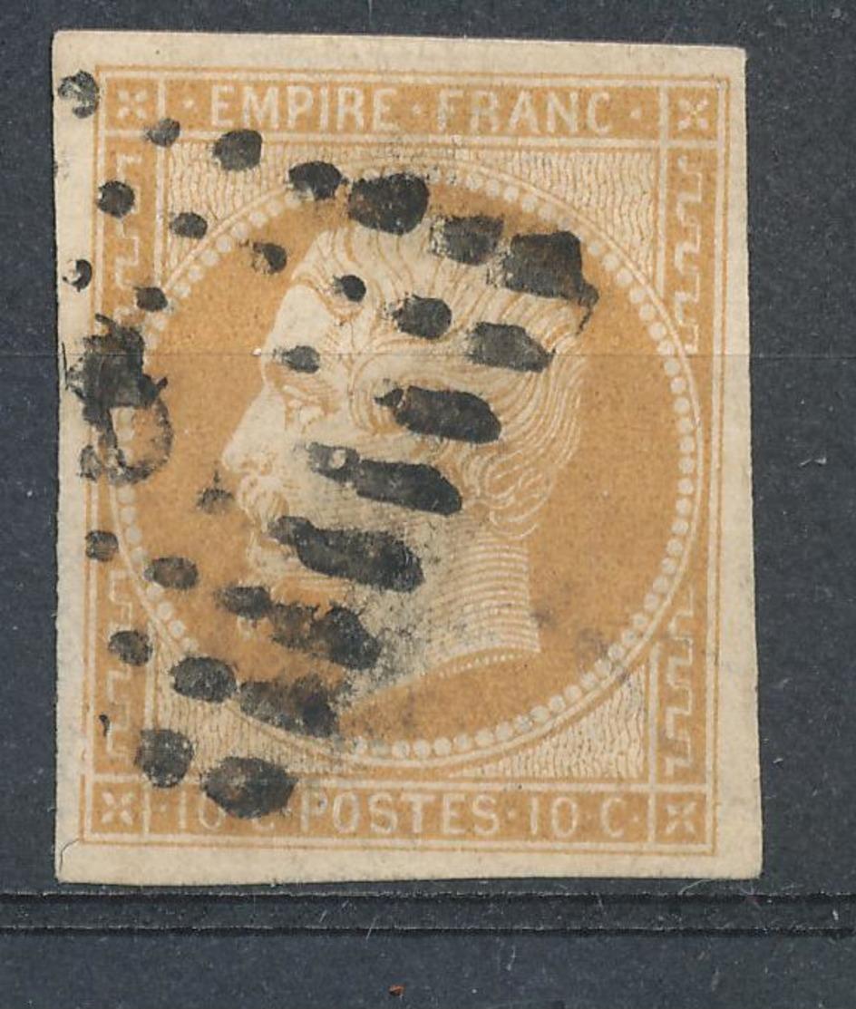 N°13 NUANCE ET OBLITERATION. - 1853-1860 Napoléon III