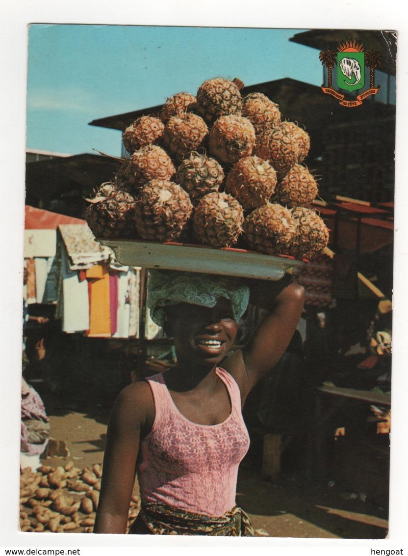 "Timbre , Stamp Yvert N°  565 "" Oiseau "" Sur Cp , Carte , Postcard Du 14/01/1981 - Costa D'Avorio (1960-...)"