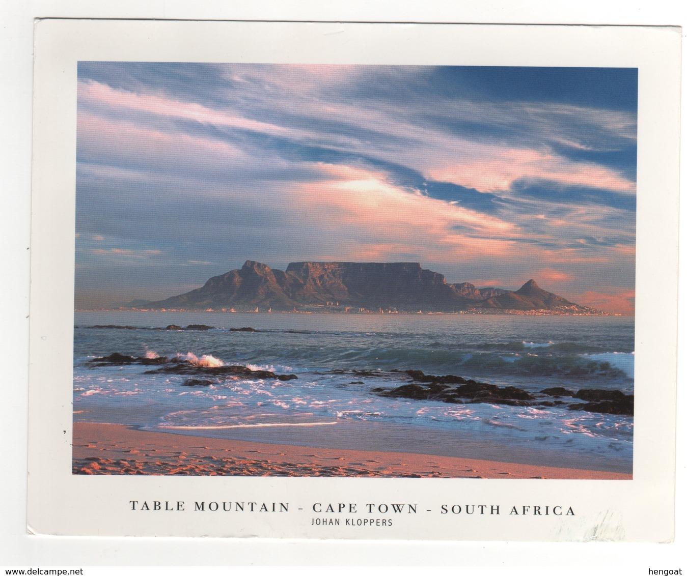 """Timbres , Stamps """" Poisson , Oiseau """" Sur Cp , Carte , Postcard De 2008 - Afrique Du Sud (1961-...)"""