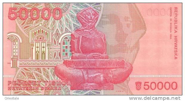 CROATIA P. 26a/27a SET 1993 UNC (2 Billets) - Croatie